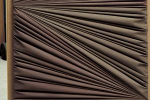 Umberto Mariani, Senza titolo, 2019, Vinilico e sabbia su lamina di pimbo, cm. 120x90