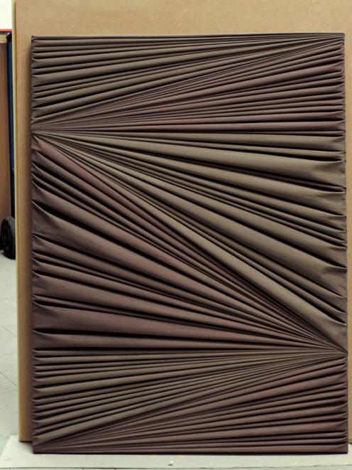 Nella mostra ad Aosta di Lucio Fontana due opere di Umberto Mariani
