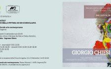 Giorgio Chiesi mostra personale Argenta